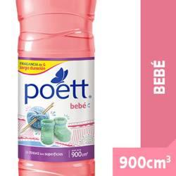 Limpiador Líquido Bebé Poett x 900 cc.