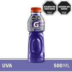 Bebida Gatorade Uva Pet x 500 cc.