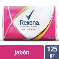 Jabón de Tocador Rexona Orchid Fresh x 125 g.