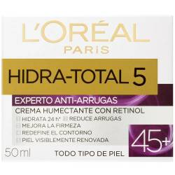 Crema Antiarrugas Loréal Dermo Expertise Hidratante Total 5 45+ x 50 cc.