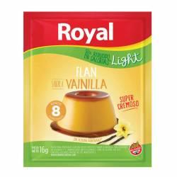 Flan de Vainilla Light Royal x 16 g.