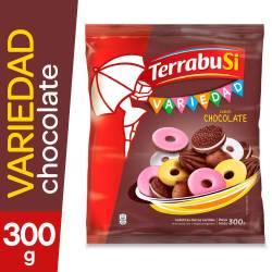 Galletitas Surtidas Terrabusi Variedad Chocolate x 300 g.