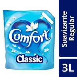 Suavizante Comfort Regular Clásico Doy Pack x 3 Lt.