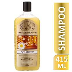 Shampoo Tío Nacho Aclarado Natural x 415 cc.
