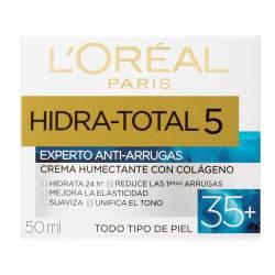 Crema Antiarrugas Loréal Dermo Expertise Hidratante Total 5 35+ x 50 cc.