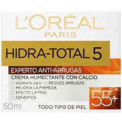 Crema Antiarrugas Loréal Dermo Expertise Hidratante Total 5 55+ x 50 cc.