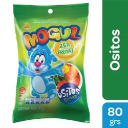 Pastillas Goma Ositos Tutti Frutti Mogul x 80 g.