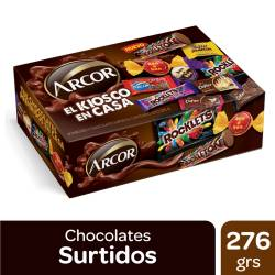 Bombones y Chocolates Surtidos Arcor Caja x 276 g.