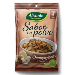 Caldo Saborizante Alicante Champignones - Hongos x 4 un. 30 g.