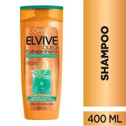 Shampoo Elvive Óleo Extraordinario Rizos Definidos x 400 cc.