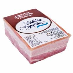 Panceta Ahumada Trozada Cabaña Argentina x 1 kg.