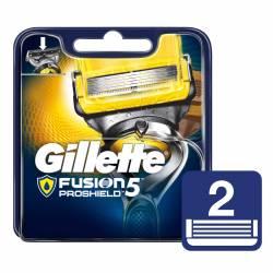 Cartucho Afeitar Gillette Fusión Proshield x 2 un.
