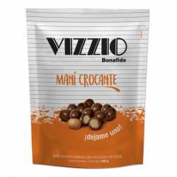 Maní Bañado con Chocolate Vizzio x 140 g.