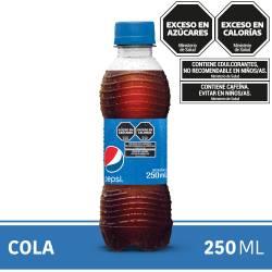 Gaseosa Cola Pepsi Pet x 250 cc.