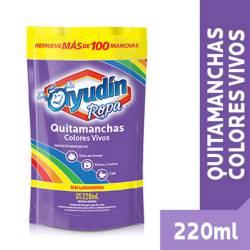 Quitamanchas Líquido Ayudín Ropa Color Doy Pack x 220 cc.