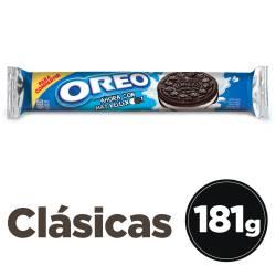 Galletitas Chocolate Oreo con Relleno de Vainilla x 181 g.