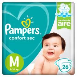 Pañal Pampers Confort Sec Mega Pack M x 26 un.