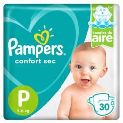 Pañal Pampers Confort Sec Mega Pack P x 30 un.