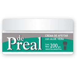 Crema Afeitar Preal con Aloe Vera Pote x 200 g.