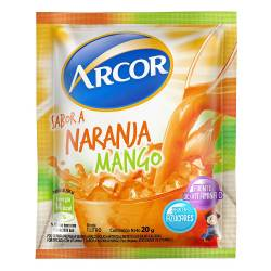 Polvo para Preparar Jugo Arcor Mango-Naranja x 20 g.