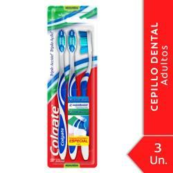 Cepillo Dental Colgate Triple Acción x 3 un.