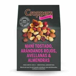 Mix Frutas Secas Croppers Arándados Rojos x 100 g.