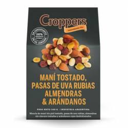 Mix Frutas Secas Croppers Almendras & Arándanos x 100 g.