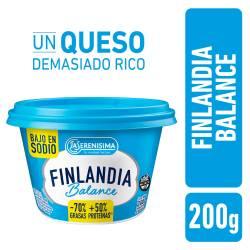 Queso Untable Light Finlandia Balance x 200 g.