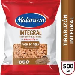 Fideos Tirabuzón Matarazzo Integral x 500 g.