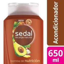 Acondicionador Sedal Bomba Nutrición x 650 cc.