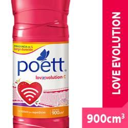 Limpiador Líquido Poett Love x 900 cc.