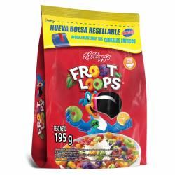 Cereal de Frutas Froot Loops Bolsa x 195 g.