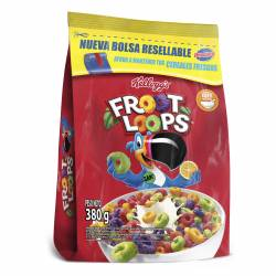 Cereal de Frutas Froot Loops Bolsa x 380 g.