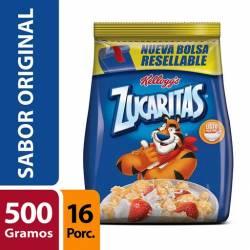 Copos de Maíz con Azúcar Zucaritas Bolsa x 500 g.