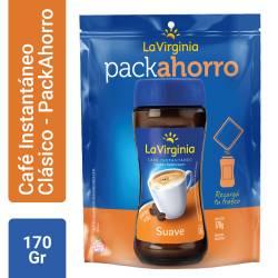 Café Instantáneo Suave La Virginia Pack Ahorro x 170 g.