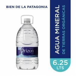 Agua Mineral sin gas Orizon x 6.25 Lt.