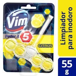 Desodorante para Inodoro Vim Citrus Poder x 5 un. 55 g.