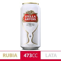 Cerveza Stella Artois Lata x 473 cc.