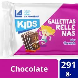 Galletitas Rellenas Chocolate La Anónima x 291 g.