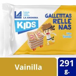Galletitas Rellenas Vainilla La Anónima x 291 g.