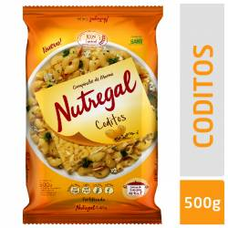 Coditos Fortificado Nutregal x 500 g.