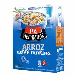 Arroz Doble Carolina Dos Hermanos Estuche x 500 g.