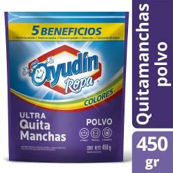 Quitamanchas Polvo Ayudín Ropa Color - 5 Beneficios x 450 g.