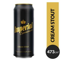 Cerveza Imperial Negra Lata x 473 cc.