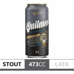 Cerveza Negra Quilmes Stout Lata x 473 cc.