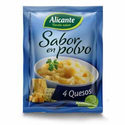 Saborizante 4 Quesos Alicante x 4 un. 30 g.