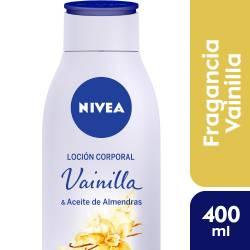 Crema Corporal Nivea Vainilla y Aceite de Almendras x 400 cc.