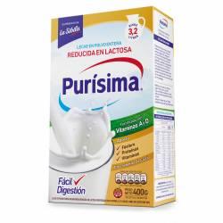 Leche en Polvo Entera Purísima con Vitaminas A y D x 400 g.