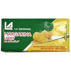 Margarina Light La Anónima x 200 g.