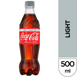 Gaseosa Cola Coca-Cola Light Pet x 500 cc.